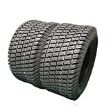 2 PCS Tubeless 4PR 16/7.50-8 For Garden Lawn Mower Tractor Golf Cart P322 Turf Tires LRB 16-7.50-8 Turf Bias Load Range B Tires 16x7.50-8 16x7.50-8