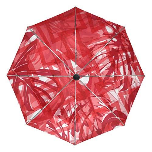 Paraguas de Viaje pequeño a Prueba de Viento para Exteriores, Lluvia, Sol,...