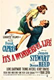 (11x17) It's A Wonderful Life - James Stewart Donna Reed Movie Poster