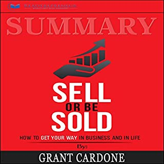 Page de couverture de Summary: Sell or Be Sold