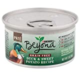Purina Beyond Grain Free, Natural Pate Wet Cat Food, Grain Free Duck & Sweet Potato Recipe - (12) 3...