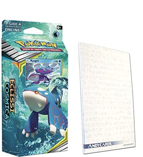 Andycards Ramo Kyogre Eclissi Cosmica – Baraja de 60 cartas Pokémon en...