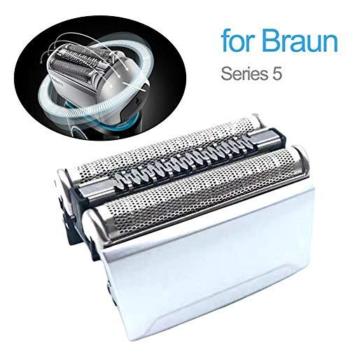 Set Elektrischer Ersatz-Scherköpfe 52B 52S für Braun 5 Series 5020S 5030S 5040S 5050S 5070S 5090CC Herren Elektrorasierköpfe weiß
