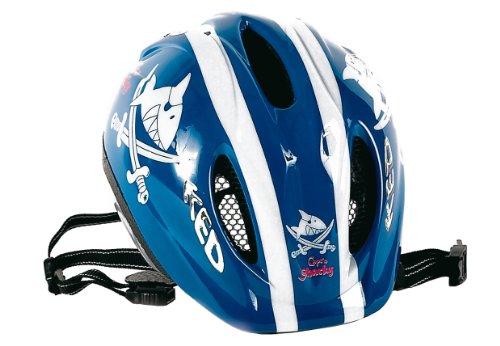 Bike Fashion Capt`n Sharky Casque pour vélo Garçon, Multicolore, Taille 52-58 cm