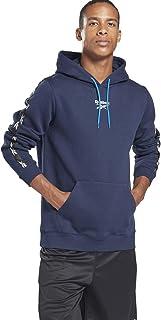 Reebok Men's Te Tape Hoodie Sweatshirt