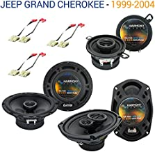 Compatible with Jeep Grand Cherokee 1999-2004 OEM Speaker Replacement Harmony Upgrade Package