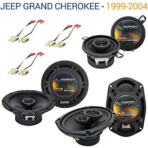 Jeep Grand Cherokee 1999-2004 OEM Speaker Replacement Harmony Upgrade Package
