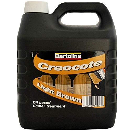 Bartoline Creocote Light Brown 4 Litre