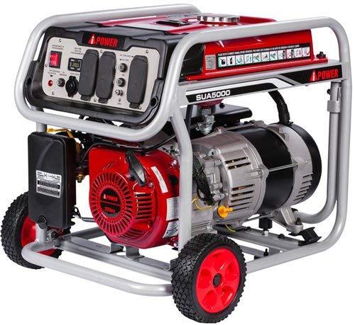 JEGS 86065 Portable Generator 5000 Starting Watts 4250 Running Watts 9 Hr. Run Time generator portable