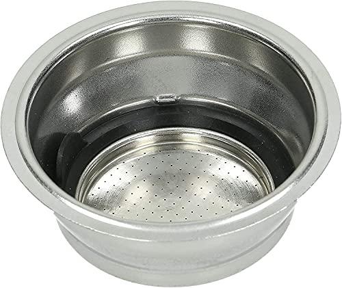 Delonghi Filter Assembly 2 Cup for Delonghi EC860, ECP3420, EC680M, ECP3630