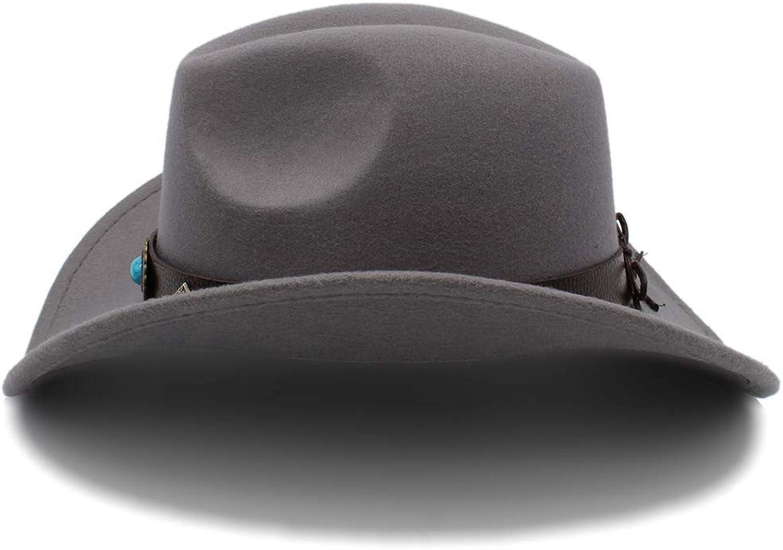 Fashion Warm Comfortable Hats Women New Western Cowboy Hat Men and