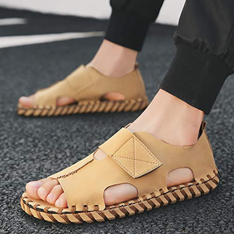 Shukun Men's flip flops Summer Slippers, Men'S Sandals, Sandals, Casual, Fashion, Wearing Beach shoes
