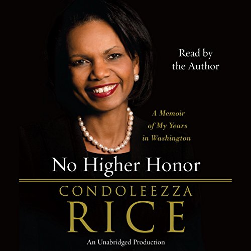 No Higher Honor audiobook cover art