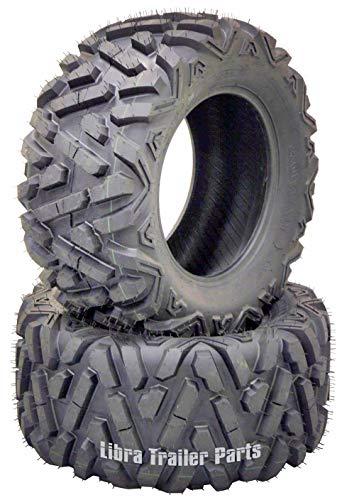 (2) 26x11R12 Radial ATV Rear Tire Set for 14-17 Polaris Ranger 900 CREW/XP