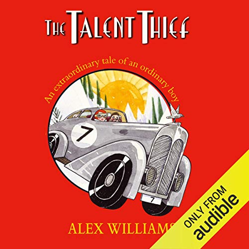 The Talent Thief audiobook cover art