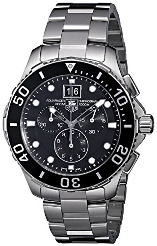 TAG Heuer Men's CAN1010BA0821 Aquaracer Stainless Steel Chronograph Watch