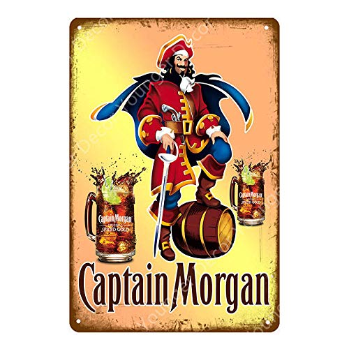 SHOVV metalen bord Rum Whisky Bier schild Cafe Bar Pub Wanddecoratie Poster Vodka Retro 20x30cm Yd7162g