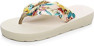 Tinksky Women's Flip Flops Beach Slippers Summer P
