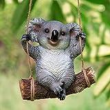 Goudaidai, decorazione da giardino, decorazione da giardino, villa, simulazione, scultura animale, resina, Koala