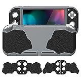 PlayVital Grip Pegatina de Goma con Textura Antideslizante para Nintendo Switch Lite Adhesivo Pad de Agarre Sudor Absorbente Calcomanía para Control Grip Skins Pegatina para Switch Lite-3 Tamaños