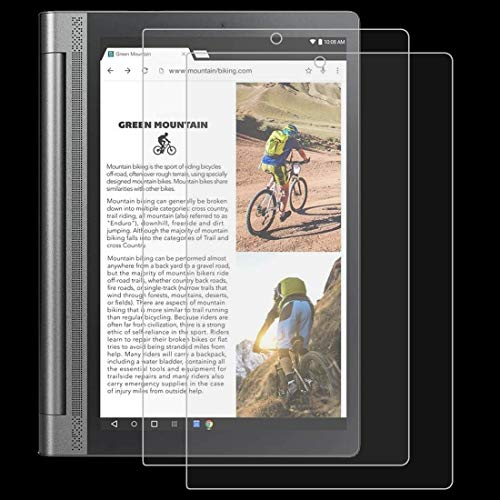 DONGYAO Protector de pantalla para tablet Lenovo Yoga Tab3 Pro-X90Y 10.1 9H 0.3mm a prueba de explosiones película de vidrio templado
