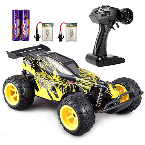 GamePath Remote Control Car - 2.4Ghz Fast Toy Car for Kids 1:22 High Speed Racing RC Cars with 2 Rechargeable...
