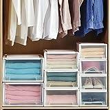 WWWL Caja de almacenaje Caja de Almacenamiento de cajón Grande calificación de Ropa Interior Armario multifunción Organizador Armario hogar 13L