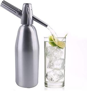 HXZB Professionnel Soda Siphon Seltzer Dessalinisateur, Soda Flash Aluminium CO2 Bâton Outil, Cocktail Bricolage Boissons ...