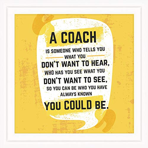 FL Coach Gifts for Men & Women | Original 7x7 Tile Artwork Ideal for Trainer | Appreciation Gift for Coach | Unique Present for Trainers | Special Home & Office Decorative Art