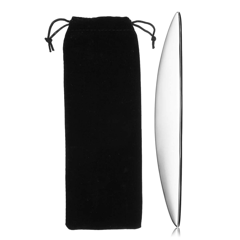 KISENG 304ステンレス鋼 グアシャマッサージ グアシャこすり スパ 手動マッサージボード ボディ健康ツール