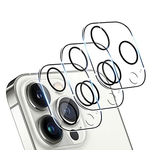 TUTUO [3 Pezzi] Lente Camera Pellicola Protettiva Compatibile con iPhone 13 Pro/iPhone 13...