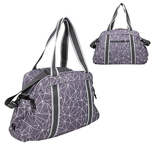 LYJL Yoga Mat Bag Tote Sling Portador con Bolsillos Laterales Cremalleras para Office Travel Gym Picnic Multi Propósito