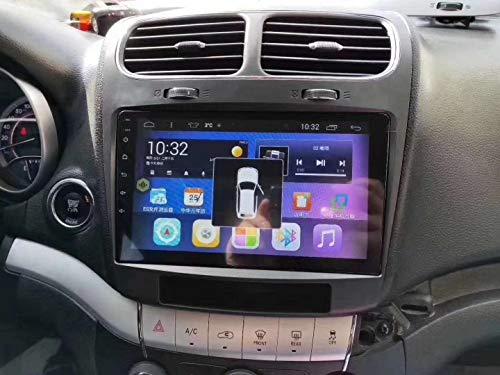 XISEDO Android Autoradio per Fiat Leap Dodge Journey In-dash Car Radio 9 Pollici Car Stereo Navigatore GPS con Schermo di Tocco Nessun lettore DVD (Leap)