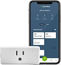 Leviton DW15P-1BW Plug-In Outlet, 1-Pack, White