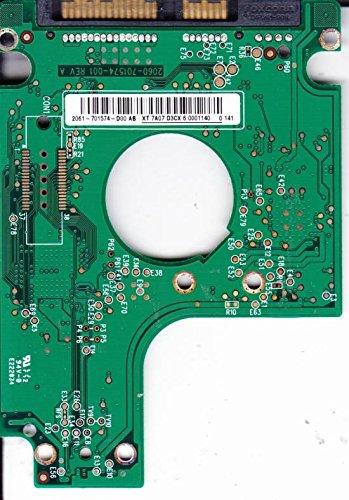 WD2500BEKT-00F3T0, 2061-701574-D00 AB, WD SATA 2.5 Leiterplatte (PCB)