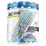 REPP Sports Broken Arrow Extreme Pre-Workout | Intense Energy and Endurance Support (Hail Storm, 30 Servings)