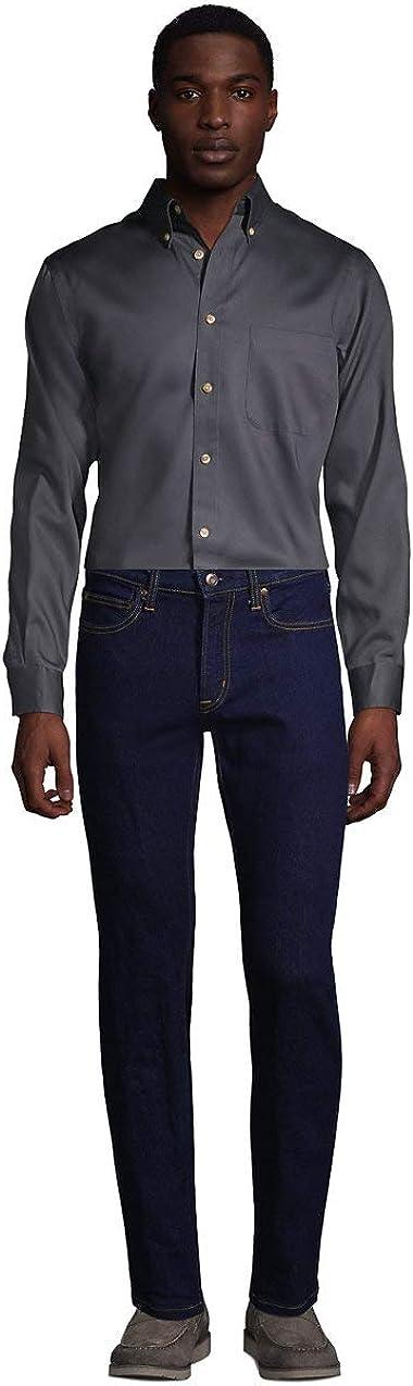 Lands' End Men's Long Sleeve Performance Twill Shirt