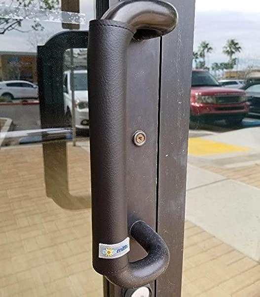 3 25 Cylinder Door Handle Cover Mitt Black