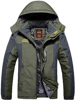 Winter Outdoors Jackets Thicken Fleece Warm Coats Men Outwear Waterproof Windproof Hooded Jacket