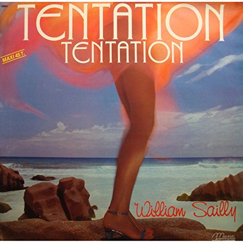 WILLIAM SAILLY tentation/fermer les yeux MAXI 12