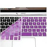 Casiii Silikon-Tastaturschutz für Acer 11,6 Zoll Chromebook Cb3-111-c670 Cb3-111-c8ub (Us Layout)