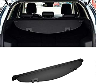 MotorFansClub for Mazda Cx-5 CX5 2013-2016 Rear Trunk Cargo Luggage Shade Cover Black