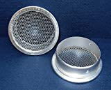 2' Round Open Screen Vent - Mill - Pkg of 6