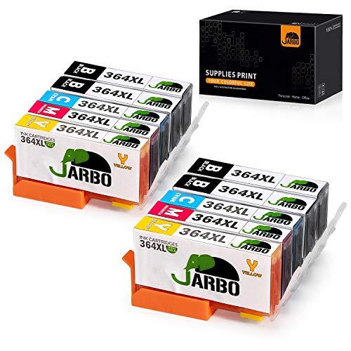 JARBO Remplacer pour HP 364 XL Cartouche d'encre 2Set+2Noir...