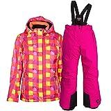 Killtec Kinder Skianzug Winter Skijacke Skihose Set Farb- und Größenwahl (Coral, 152)