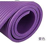 KGLOPYE Colchoneta de Yoga Estera de Yoga Antideslizante Engrosada de 15 mm de protección del Medio...