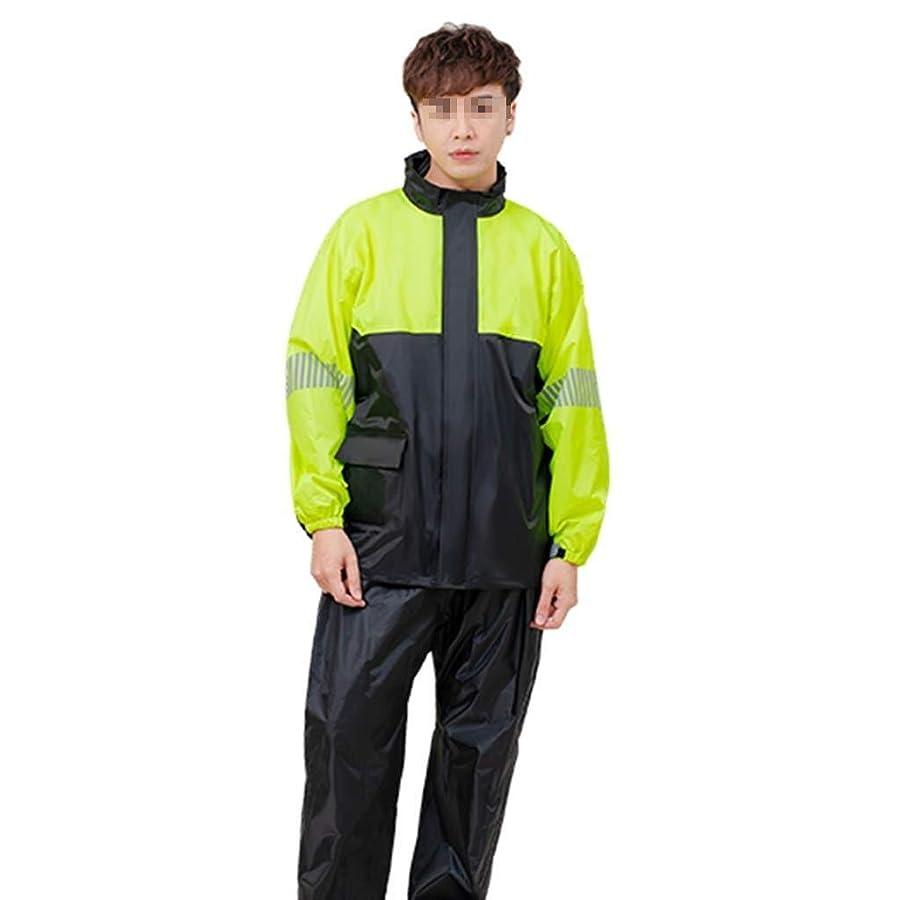 第四早い宝石TD フード付き防風性と耐候性をライニングレインコートレインコート大人のファッションレインコートグリッド ポンチョ ハイキング (Size : Medium)