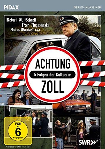 Achtung Zoll / 5 Folgen der Kultserie (Pidax Serien-Klassiker)
