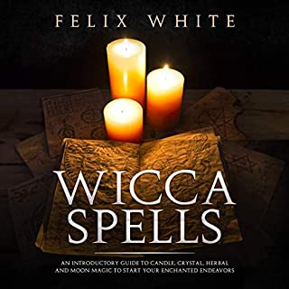 Wicca Spells audiobook cover art