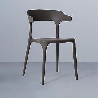 Tellgoy-Chair Sillas Creativa Comedor Sala de Estar, diseño Moderno sillas de Cocina PP Material, sillas taburetes para Comedor salón Cocina Dormitorio Office Lounge Restaurante,F,X1